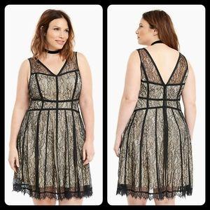 Torrid Lingerie Lace Dress